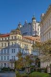 Street in Karlovy Vary, Czech repablic Stock Photography