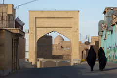 Street of Kashan city Royalty Free Stock Photo