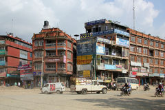 Street in Kathmandu, Nepal Royalty Free Stock Photos