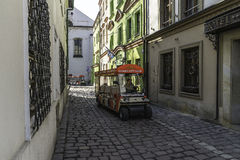 Street in Kazimierz royalty free stock images