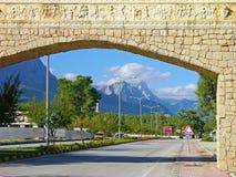 Street of Kemer, Turkey Royalty Free Stock Photo