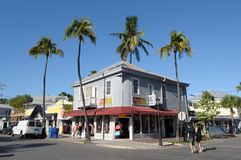 Street in Key West, Florida Stock Images