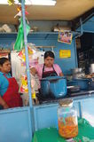 Street kitchen in Latin America Royalty Free Stock Image
