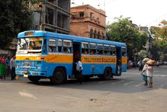 Street Of Kolkata Royalty Free Stock Image