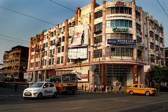 Street Of Kolkata Royalty Free Stock Photography