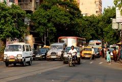 Street Of Kolkata Stock Photos