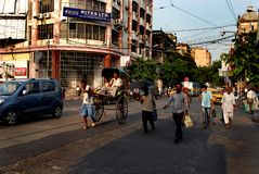 Street Of Kolkata Stock Photo