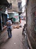 Street of Kolkata Stock Photo