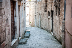 Street of Korčula Royalty Free Stock Photo