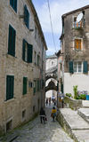 Street of Kotor Royalty Free Stock Photography