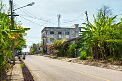 Street of Krabi Town Stock Image