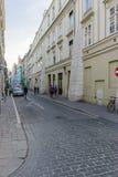 Street in Krakow Stock Photography