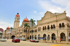 Street of Kuala Lumpur Stock Image