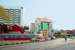 Street in Kuching - Borneo, Malaysia Stock Photo