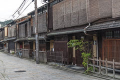 Street in kyoto japan Royalty Free Stock Photos