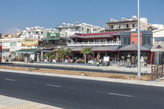 Street in Kyrenia Stock Image