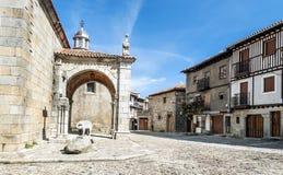 Street of La Alberca Stock Images