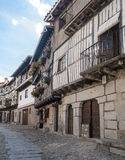 Street of La Alberca Royalty Free Stock Photography