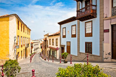 Street in La Orotava, Tenerife,  Spain. Stock Photography