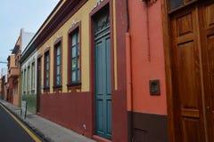 A street in La Orotova Stock Image