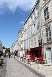 Street in La Rochelle, France Stock Image