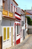 Street in Lagos, Portugal Royalty Free Stock Photos