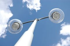 Street lamp. Against sky Royalty Free Stock Photos