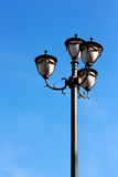 Street lamp. On a sunny day with a blue sky background Stock Photography