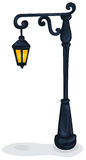 Street lamp royalty free illustration