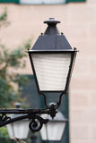 Street lamp. A typical street lamp in Madrid Stock Photography