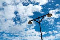 Street lamp. With blue sky Stock Images