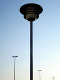 Street lamp 3. Street lamp and blue sky Royalty Free Stock Images