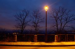 Free Street Lamp Royalty Free Stock Photo - 36595655