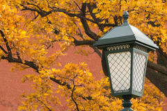 Street-lamp, κλασικό ύφος Στοκ φωτογραφία με δικαίωμα ελεύθερης χρήσης