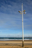 Street lamp. Lamp of beach,street,vertical Stock Images