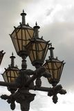Street Lamp. With clouds on the background Stock Photos