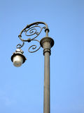 Street Lamp. Detail of old lamp stock image
