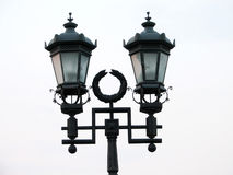 Street lamp. Retro lantern royalty free stock photography