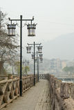 The street lamp Royalty Free Stock Images