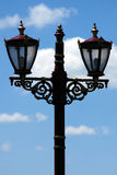 Street lamp. Street light on sky background Stock Photography