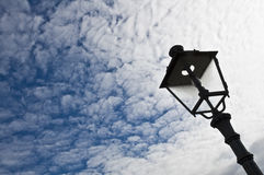 Street lamp against sky Stock Photo