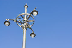 Street lamp in Antwerp Stock Photography