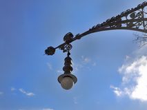 Street lamp in Barcelona. Spain Stock Images