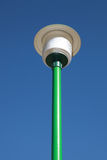 Street lamp with blue sky. Isolated street lamp with blue sky stock image