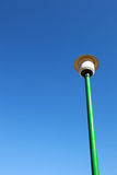 Street lamp with blue sky. Isolated street lamp with blue sky stock photo