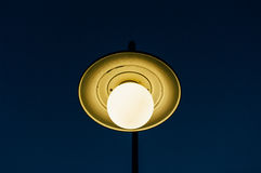 Street lamp with blue sky i Stock Photography