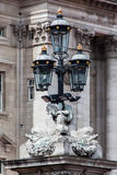 Street Lamp in Buckingham Palace London Stock Image