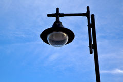 Street lamp and a bulb in the arrecife Royalty Free Stock Image