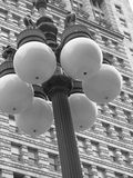Street Lamp in Chicago Royalty Free Stock Photography