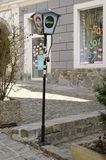 Street lamp in Graz Stock Photography
